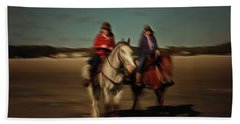 Two On The Road Beach Towel