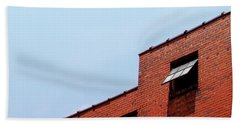 Two Open Windows- Nashville Photography By Linda Woods Beach Towel