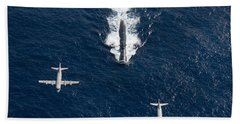 Two P-3 Orion Maritime Surveillance Beach Towel