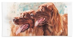 Two Redheads Beach Towel