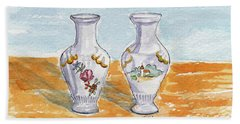 Two-view Vase Beach Sheet