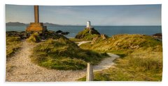 Twr Mawr Lighthouse Beach Towel