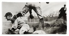 Ty Cobb Gets A Triple Beach Towel