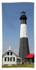 Tybee Lighthouse Georgia Beach Towel