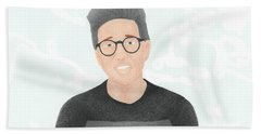 Tyler Oakley Beach Towel