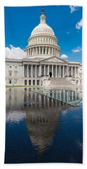 U S Capitol East Front Beach Towel