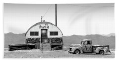 Beach Sheet featuring the photograph U - We Wash - Death Valley by Mike McGlothlen