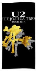 U2 Joshua Tree Beach Towel