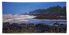 Ucluelet, British Columbia Beach Sheet by Heather Vopni