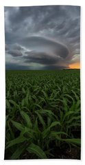 Beach Towel featuring the photograph UFO by Aaron J Groen