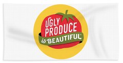 Ugly Produce Is Beautiful Beach Towel