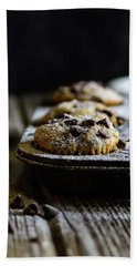 Ultimate Chocolate Chip Muffins Beach Sheet by Deborah Klubertanz