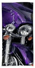 Ultra Purple Beach Towel