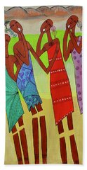 Ululation Beach Towel