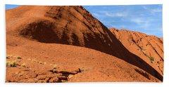 Beach Towel featuring the photograph Uluru 04 by Werner Padarin