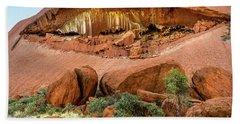 Beach Sheet featuring the photograph Uluru 06 by Werner Padarin