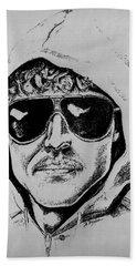 Unabomber Ted Kaczynski Police Sketch 1 Beach Towel