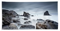 Beach Towel featuring the photograph Unbreakable by Jorge Maia