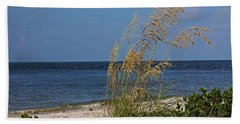 Beach Towel featuring the photograph Under A Summer Sky by Michiale Schneider