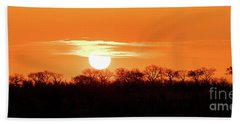 Under African Skies Beach Towel
