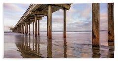 Under Scripps Beach Towel by Joseph S Giacalone