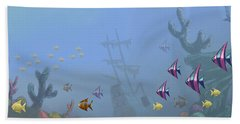 Under Sea 01 Beach Towel