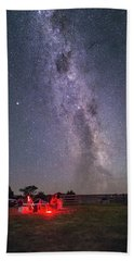Under Southern Stars Beach Towel