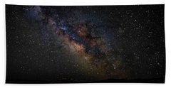 Beach Towel featuring the photograph Under Starry Skies by Scott Read