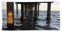 Under The Boardwalk Beach Towel