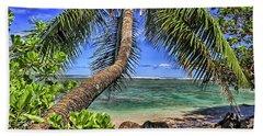 Under The Coconut Tree Beach Towel
