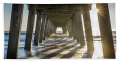 Under The Pier #2 Beach Towel