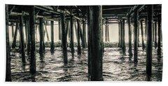Under The Pier 3 Beach Towel