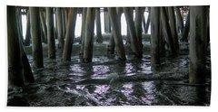 Under The Pier 4 Beach Towel