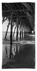 Under The Pier At Myrtle Beach Beach Sheet