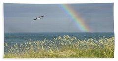 Under The Rainbow Beach Towel