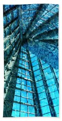Under The Sea Dwelling Abstract Beach Towel
