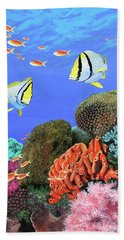 Under The Sea Beach Towel