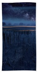 Under The Shadows Beach Towel
