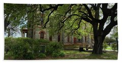 Beach Towel featuring the photograph Under The Tree F5622a by Ricardo J Ruiz de Porras