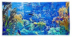 Under Water Beach Towel