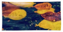 Underwater Colors Beach Sheet