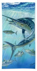 Underwater Hunting Beach Towel