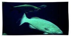Underwater Lushness Beach Sheet
