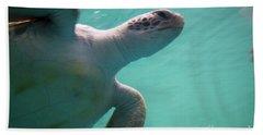 Underwater Race Beach Towel