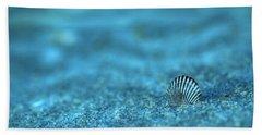 Underwater Seashell - Jersey Shore Beach Sheet