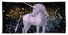Unicorn Dust Beach Sheet