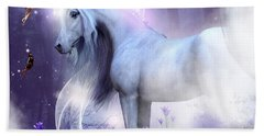 Unicorn Kisses Beach Sheet