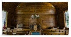 Union Christian Church Sanctuary Beach Towel