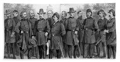 Union Generals Of The Civil War  Beach Towel