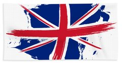 Union Jack - Flag Of The United Kingdom Beach Towel